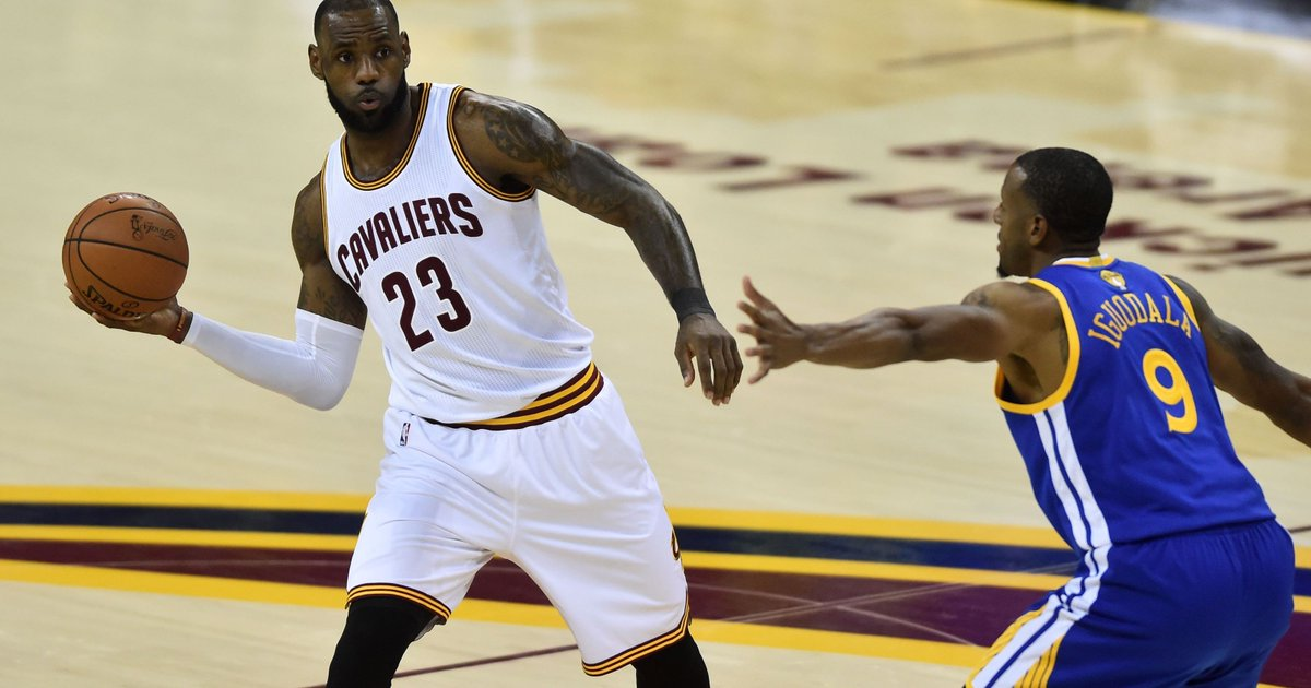 Cavaliers set NBA Finals record; LeBron James passes Michael Jordan