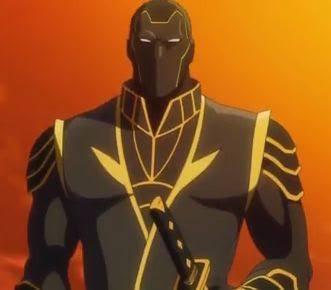ディスクウォーズのパパ思い出した。声優さんが堀秀行さんなので黒いゲルマン忍者お兄さんだった