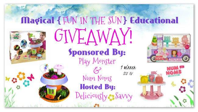 """Magical """"Fun In The Sun"""" Educational Giveaway"""
