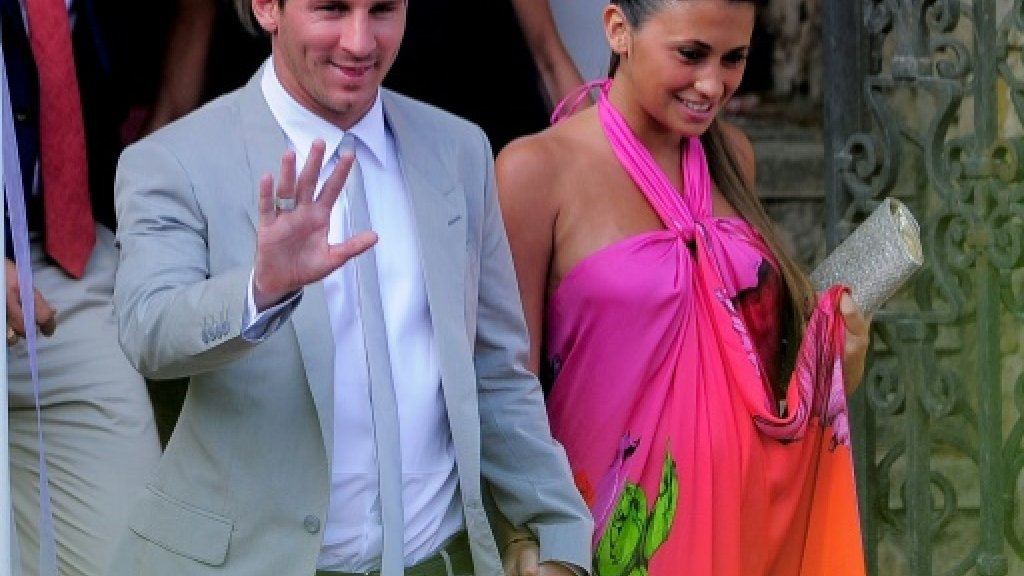 Football: Argentine town braces for Messi's wedding