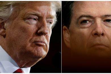 Those stories about Trump and Comey? They were true, the former FBI director says