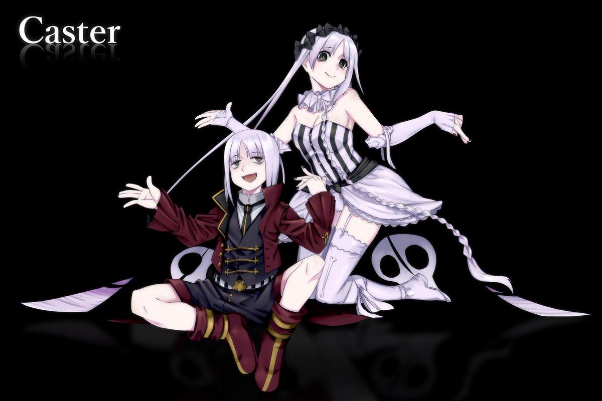 Fate/strangefakeよりフランチェスカ&真キャスター。早くボコボコにされてほしい。