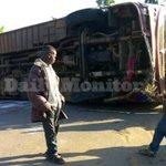 Tanzanian pilgrims injured in Masaka bus crash