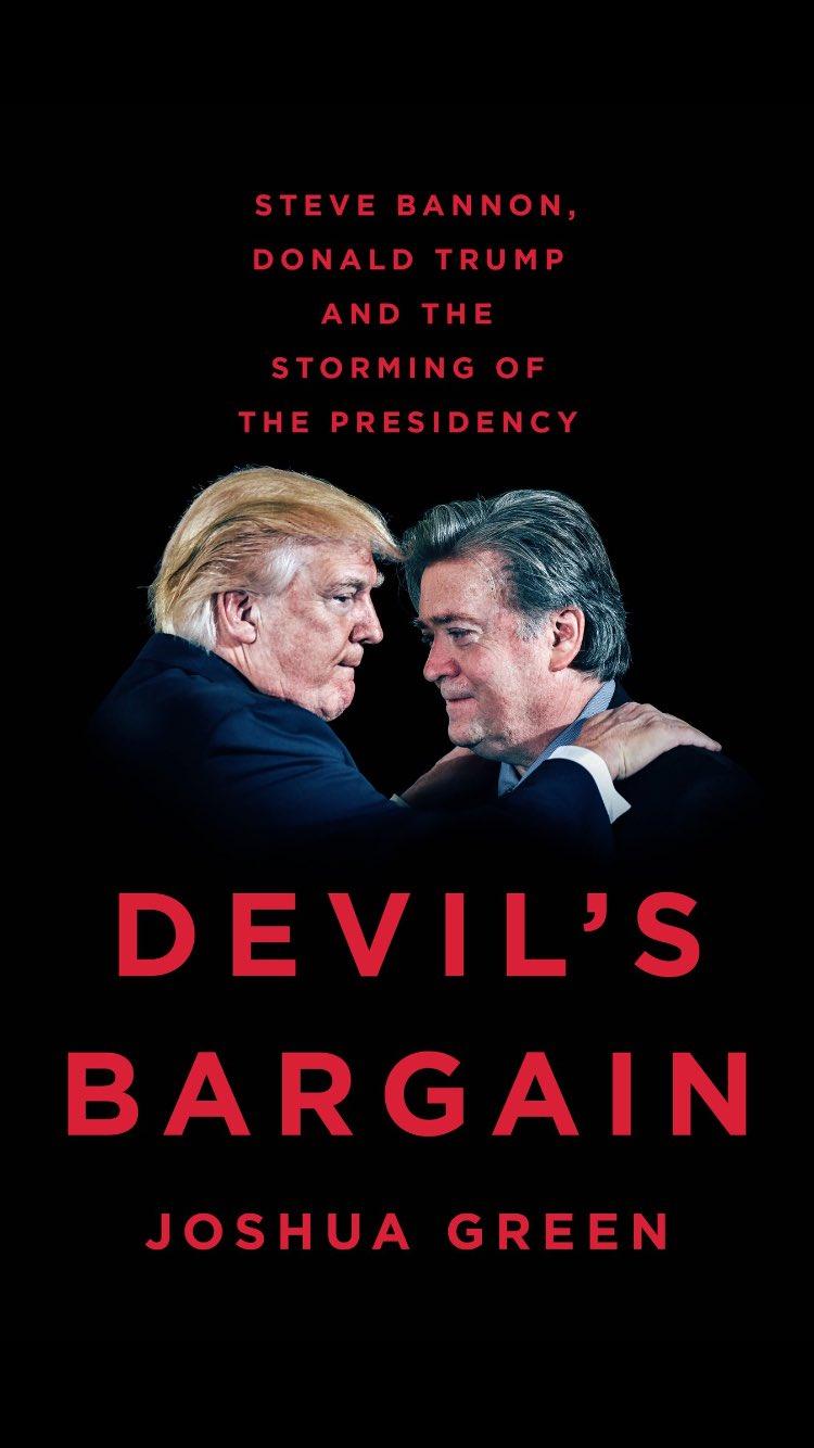 A @JoshuaGreen book on Steve Bannon & Trumpworld? Yes, please. https://t.co/h2IBjD9bmz