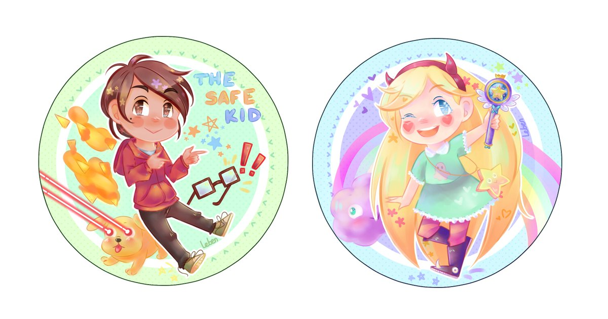 Matching buttons for you & ur bestfriend from another di