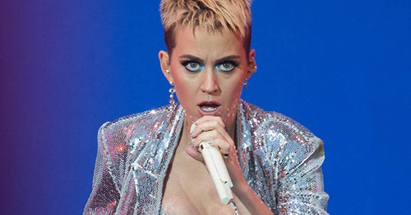 Katy Perry had a slight wardrobe malfunction onstage at BBC Radio 1's Big Weekend: