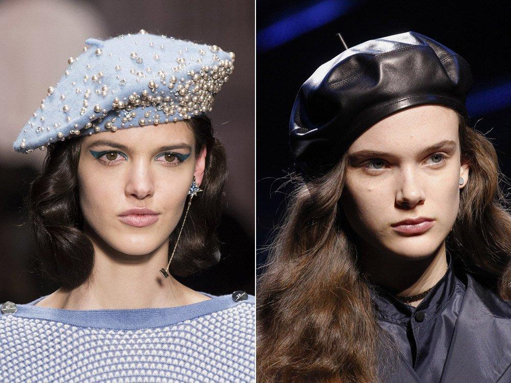 Модные шапки на осень 2017-2018 женские
