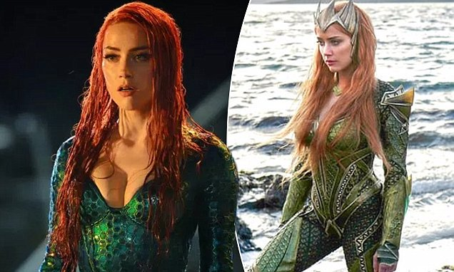 Amber Heard S Aquaman Costume Was So Tight She Couldn T Actually Sit Down