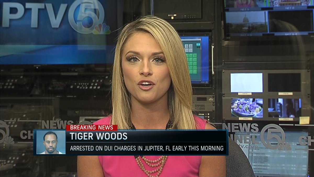 tiger was arrested heading the opposite direction from his
