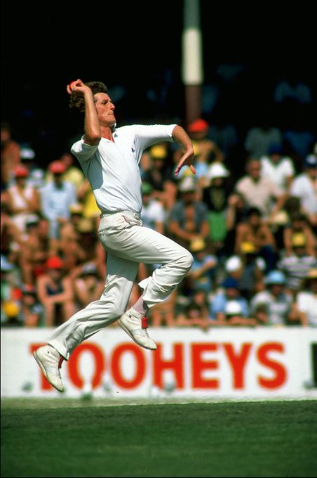 Happy Birthday to Bob Willis! The former England fast bowler took 325 wickets from his 90 Tests
