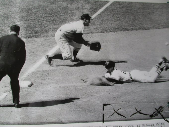 I recently bought this old Baltimore Sun photo of Brooks Robinson. Btw Happy belated birthday Brooks!