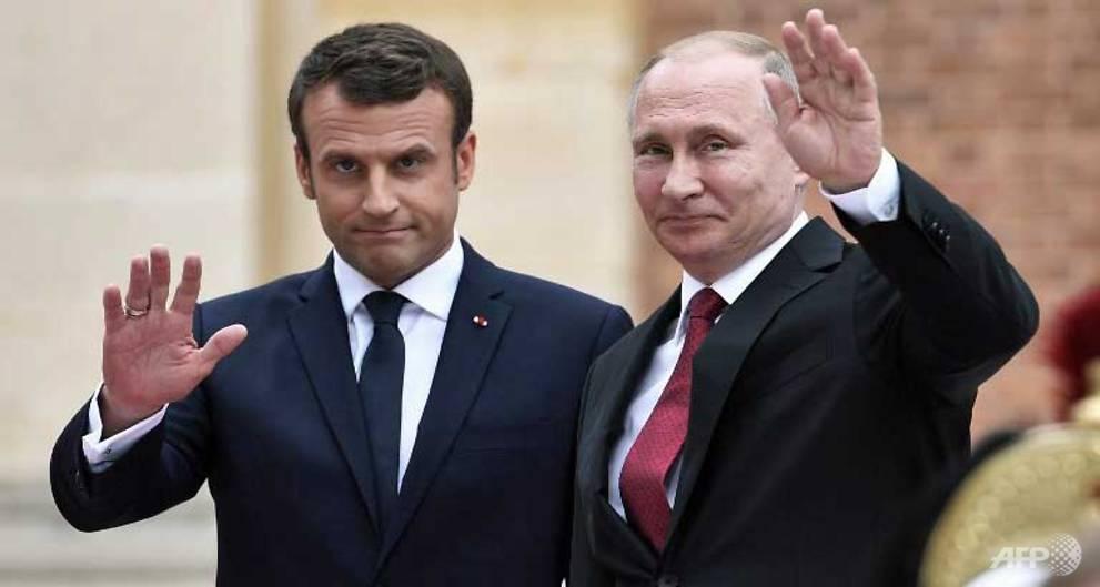 Macron, Putin hold 'frank' talks on Syria, Ukraine