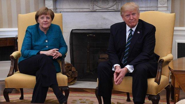 "German candidate slams Trump for ""unacceptable treatment"" of Merkel"