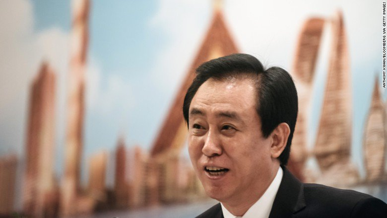 This Chinese real estate tycoon is $10 billion richer than he was at the start of this year
