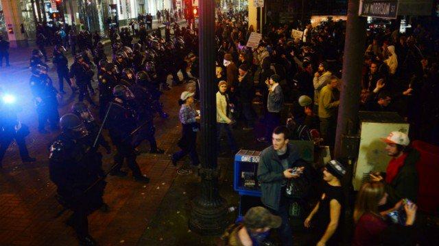 Portland Republican I might use militia groups as security
