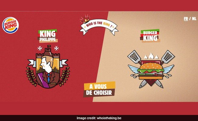 'Who's The King?' Burger King's New Ad Angers Belgian Royal Family