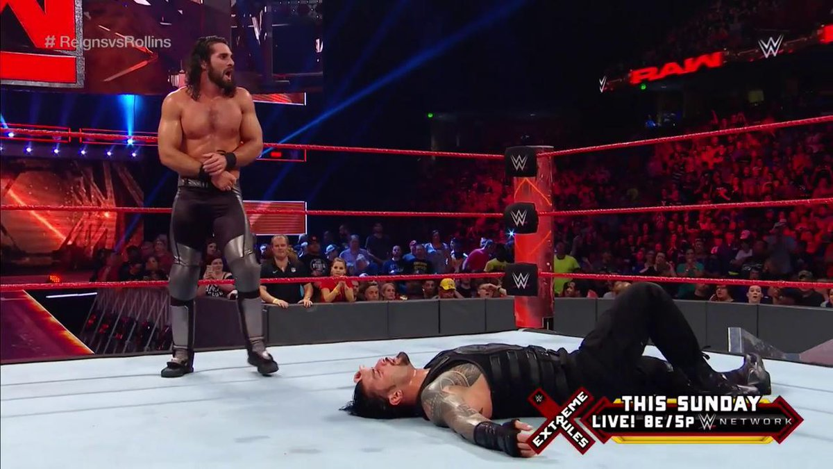 What's next in #TheArchitect's blueprint for this match? #RAW #ReignsvsRollins @WWERollins