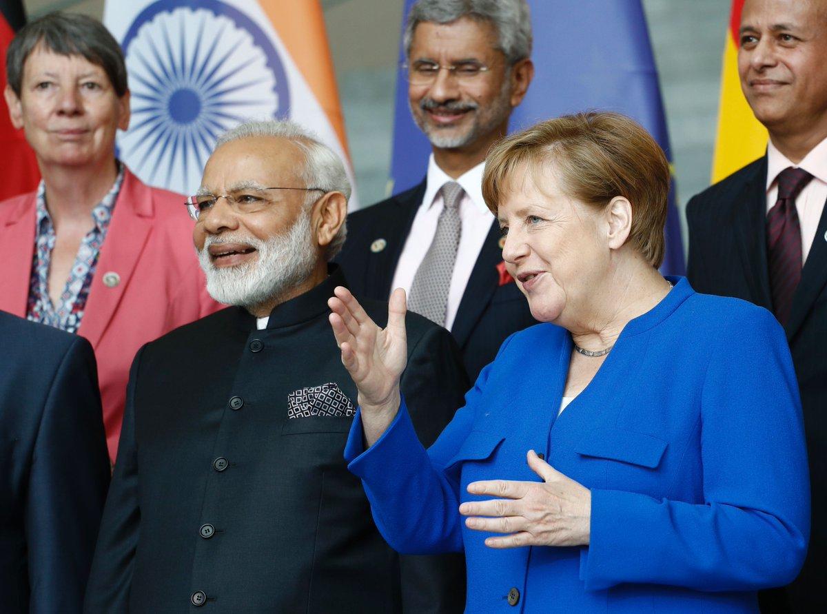 PM Modi, Merkel hold 4th Indo-German intergovernmental talks