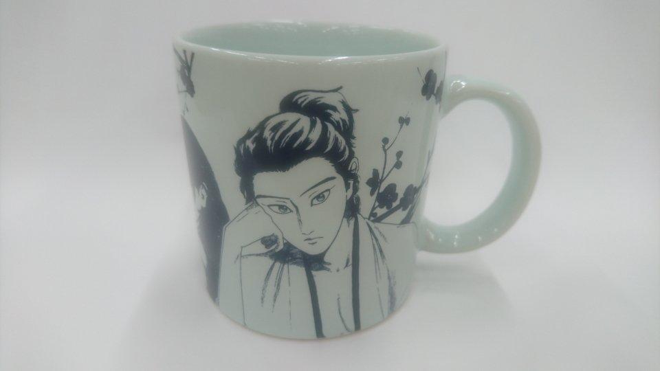 【マグカッププレゼント!!】発売中のゲッサン6月号に掲載しているマグカップの見本品が編集部に届きました!種類があるので、