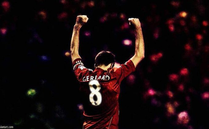 O Captain, My Captain. Happy fucking birthday STEVEN GERRARD!!