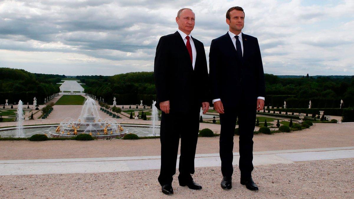 Macron gets under Putin's skin, takes on mantle of defender of western democracy