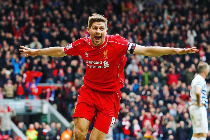 Happy 37th Birthday Steven Gerrard. Legend.