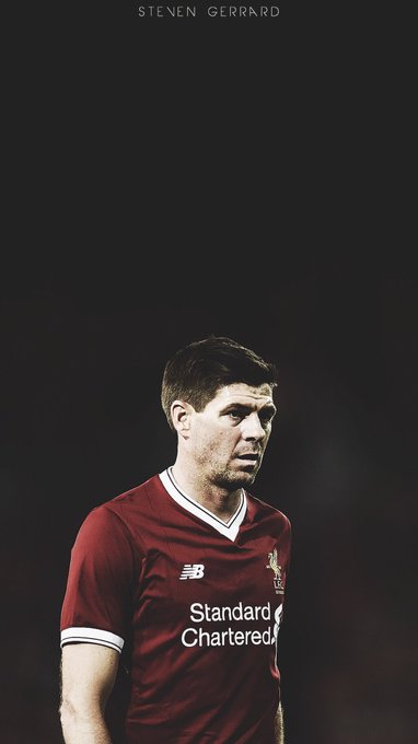 Happy Birthday To The Liverpool Legend Steven Gerrard!