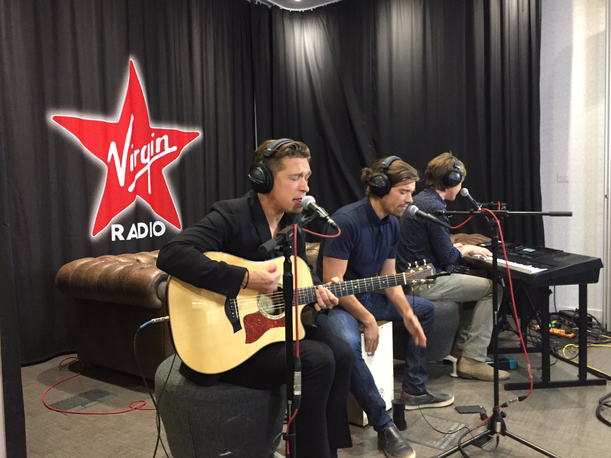 Getting ready to go live on @VirginRadioUK Tune in now! https://t.co/7MWZzyUzU8