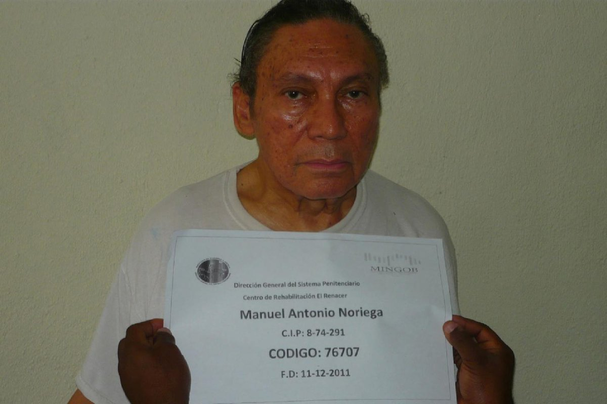 Manuel Noriega leaves behind legacy of CIA spying, drug-running with Pablo Escobar
