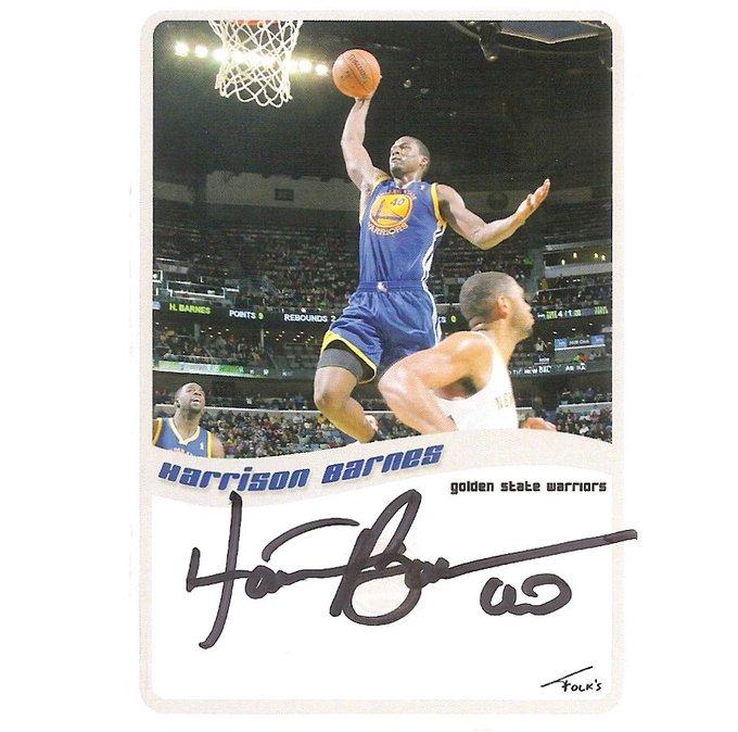 Happy Birthday to Harrison Barnes of who turns 25 today. Enjoy your day