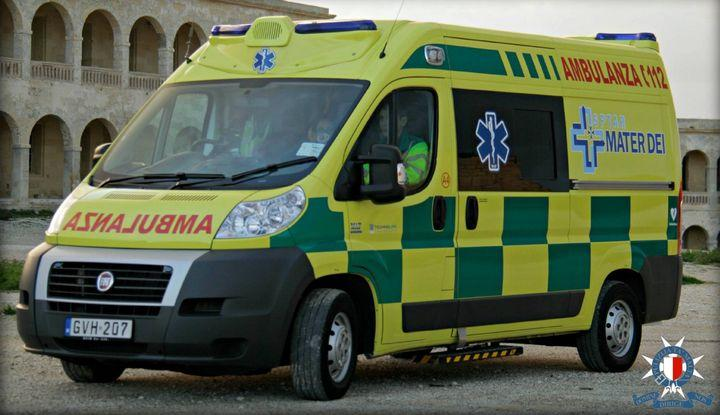 Two children hit by car in Fgura; 12-year-old girl suffers grievous injuries