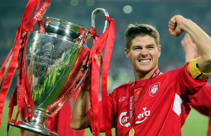 Happy Birthday to the Captain Leader Legend Steven Gerrard
