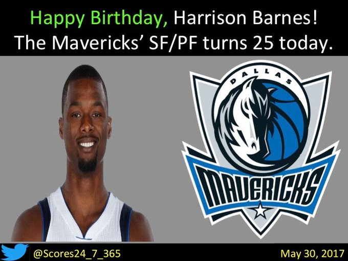 happy birthday Harrison Barnes!