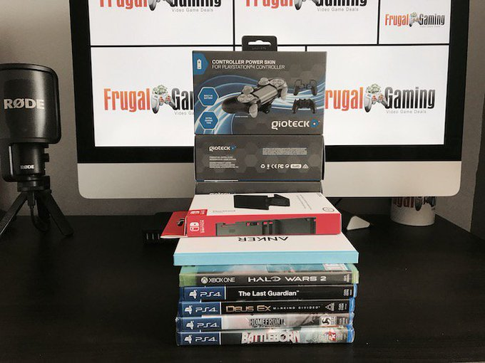 Get a Chance to Win Some Gaming Goodies