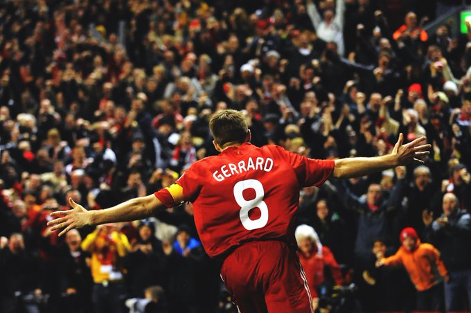 Happy birthday to the legend himself, our fantastic captain Steven Gerrard. We love you Stevie