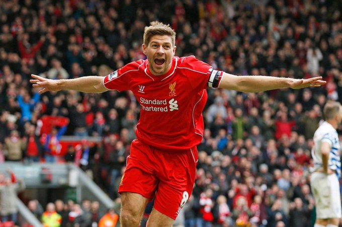 Steven Gerrard is 37 today! Happy Birthday!