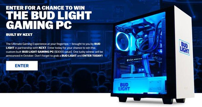 BUD LIGHT GAMING PC