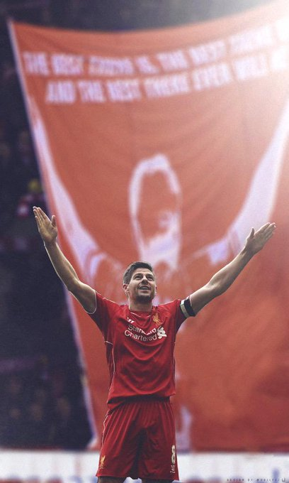 Happy birthday captain fantastic... Steven Gerrard...