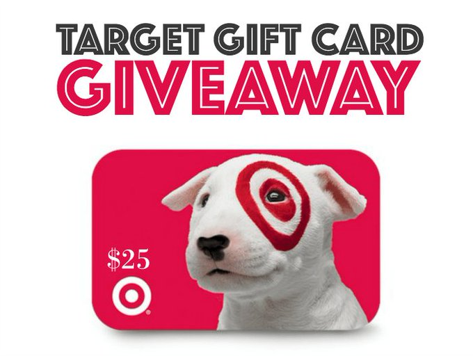 Win a $25 Target Gift Card!