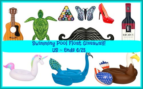Swimming Pool Floats ~ Summer #Giveaway! ~ Freebies Deals & Steals