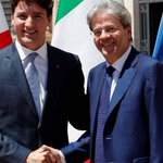 Italy PM says agrees that Europe must take fate into own hands