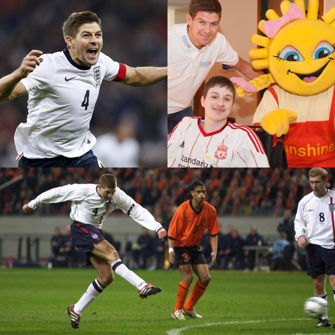 Happy Birthday Steven Gerrard... a true leader on AND off the pitch. Thank you for everything over the years