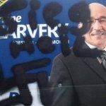 Nova Scotia Election: Racist and Nazi graffiti found on election signs