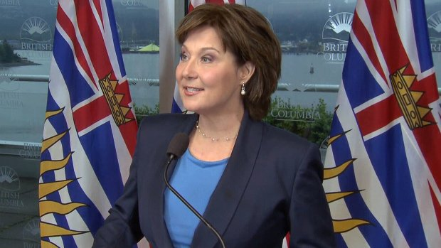 Clark won't quit as B.C. premier, will recall house