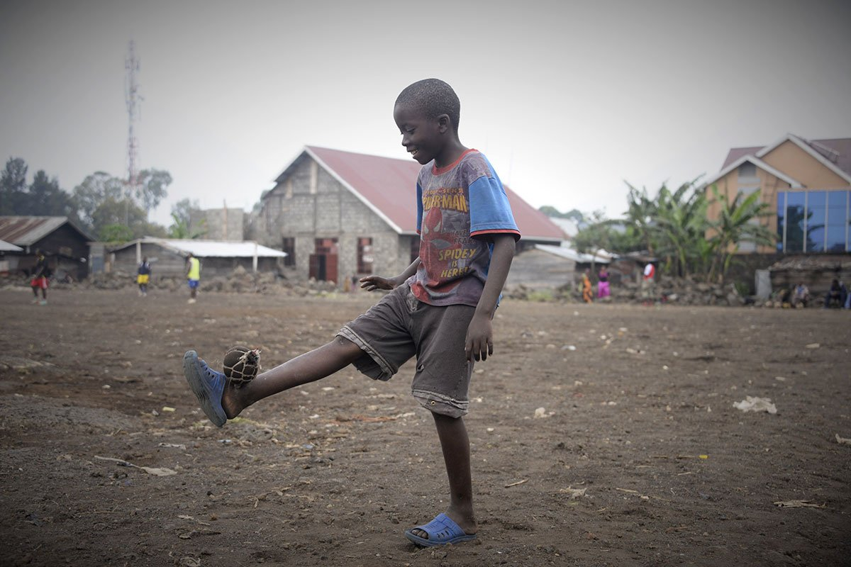 The healing powers of football in the DRC