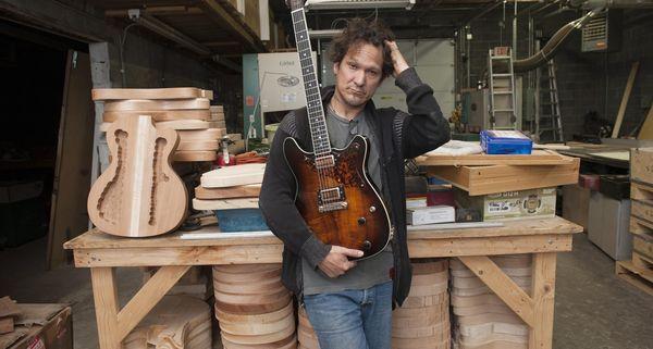L.A. guitarmaker brings skills to Detroit