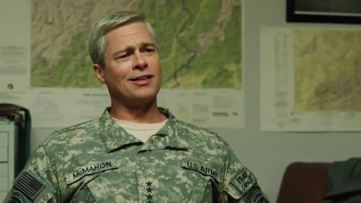 Why Brad Pitt's WarMachine nixed Its Gen. McChrystal character