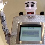 Robotic priest offers blessings in digital form