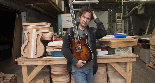 California guitar maker sets up shop in the Motor City