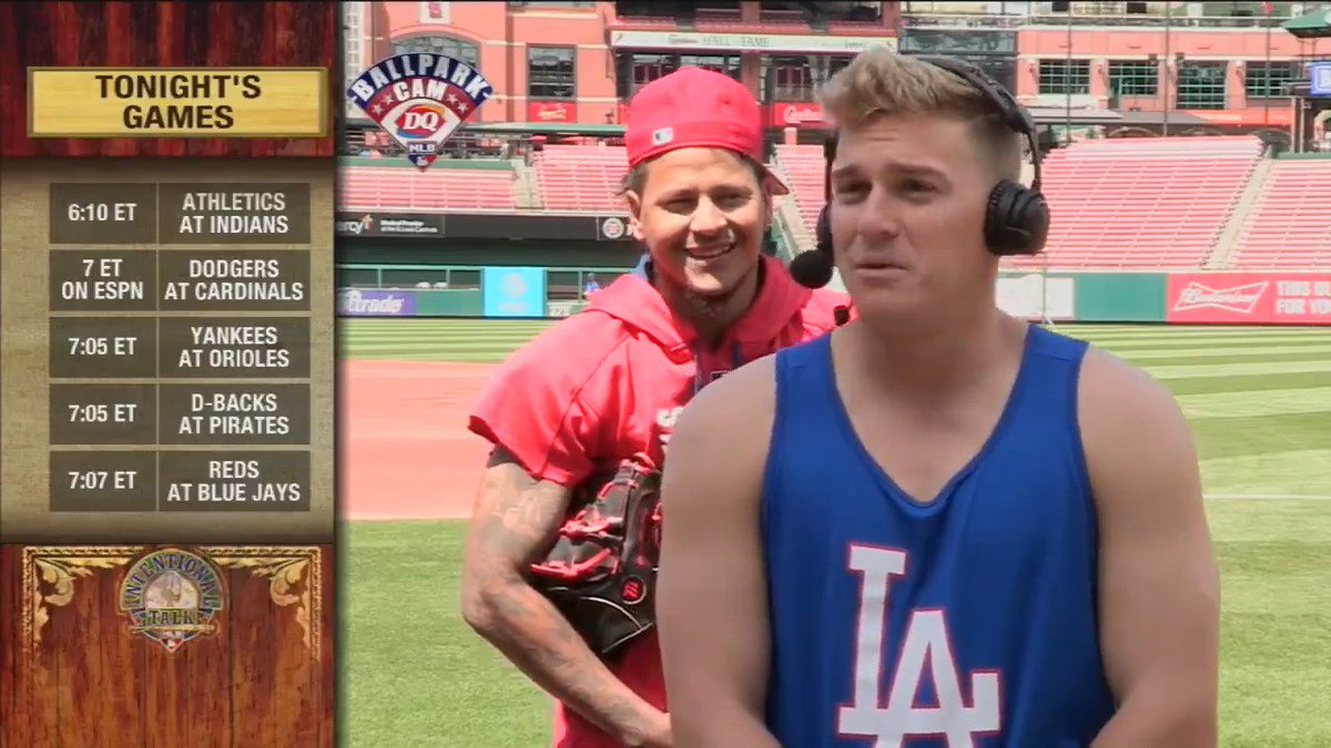 Check out @Dodgers #NLCS hero @kikehndez - and a cameo from @Tsunamy27 - earlier this year! #ITMojo https://t.co/HUrWqaiFo0